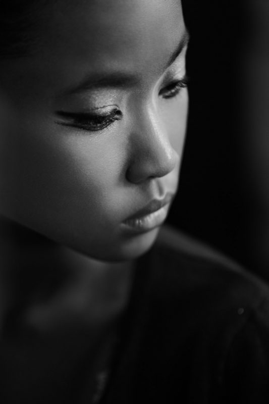 portrait of a black girl